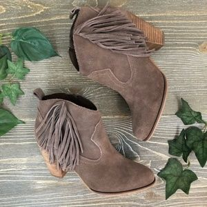 Steve Madden Ankle Booties 🌸 Ohio 🌸 Fringe 🌸